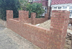 Brick Wall - ALD Construction & Landscaping